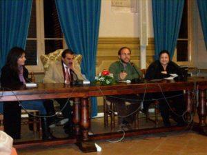 PRESENTAZIONE DEL LIBRO DI FEDERICA BORDONI, SPELLO, 13 DICEMBRE 2008