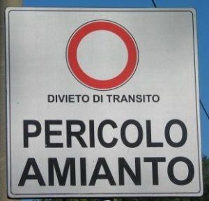 FACCIAMOLA FINITA CON L'AMIANTO